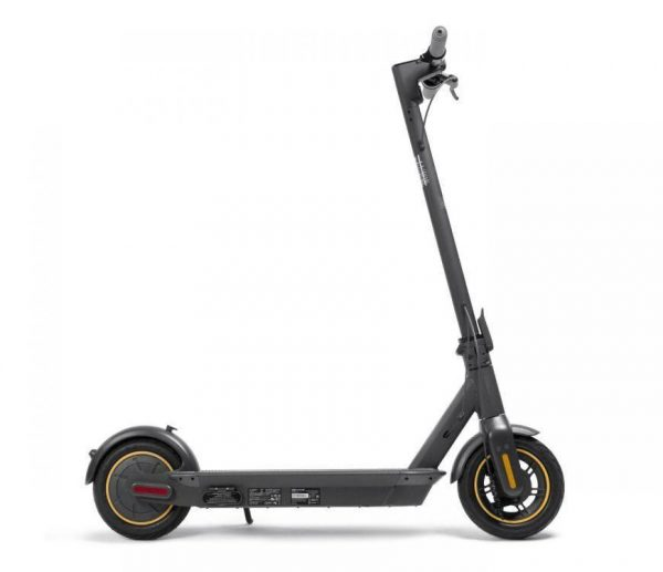 segway ninebot max g30 shown in white background