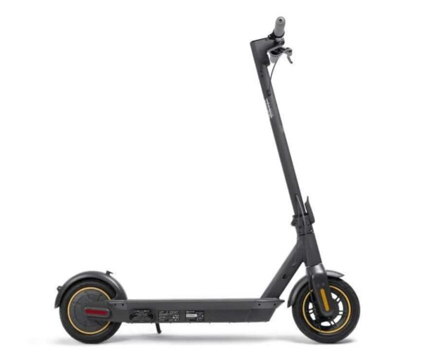 Self Standing Segway Ninebot Kickscooter Max with White BAckground