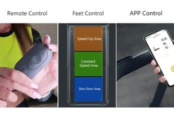 3 types of Control for Walkingpad R1 Pro
